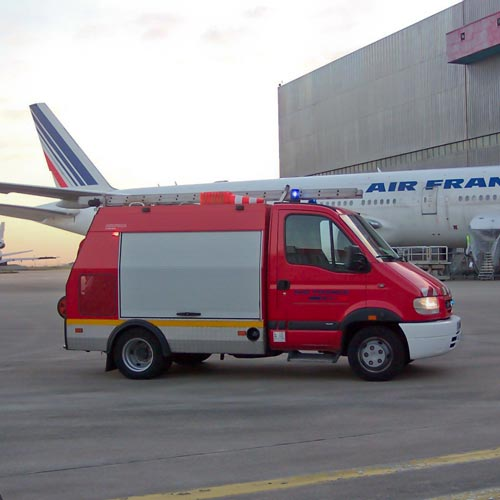 Photo AEROPORT - VEHICULE INTERVENTION